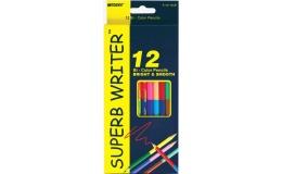 Олівці кольорові Marco Superb Writer 24 кольори двосторонні
