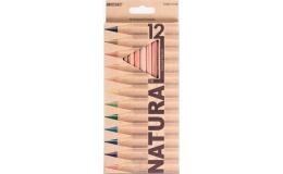 Олівці кольорові Marco Natural 12 кольорів