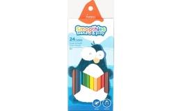 Олівці кольорові Marco Smoothies 24 кольори