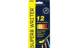 Акварельні олівці Marco Superb Writer 12 кольорів